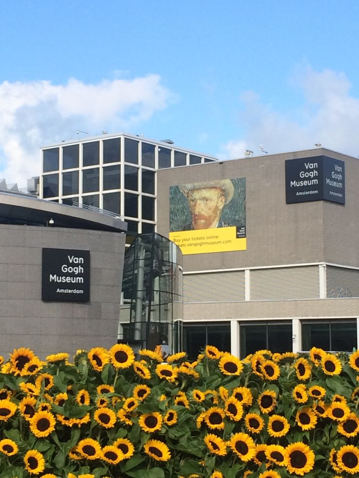 The Van Gogh museum in Amsterdam        https://www.vangoghmuseum.nl/en