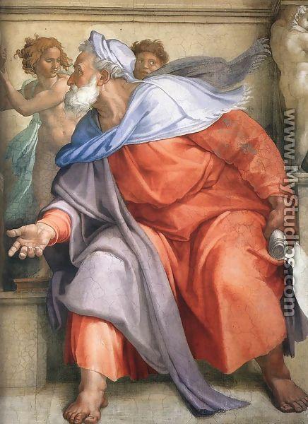 Ezekiel (detail-1) 1510 - Michelangelo Buonarroti