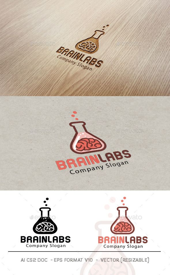 Brain Labs Logo - Objects Logo Templates