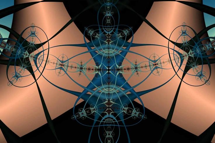Image detail for -Ribbon Matrix Fractal Screensaver Series