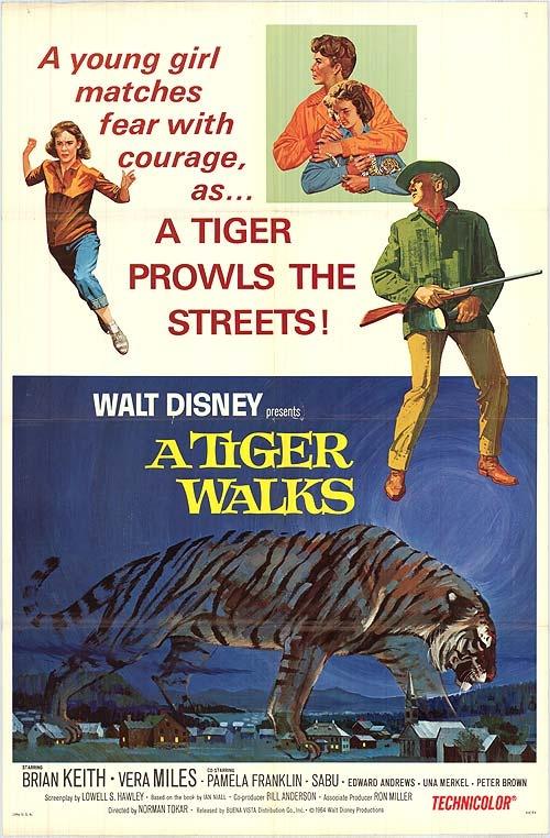 the disney films a tiger walks 1964 disney movies