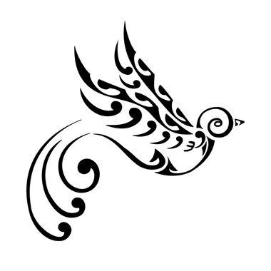 maori bird tattoo #samoan #tattoo