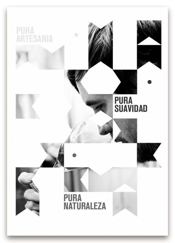 photoreal poster with graphic elements