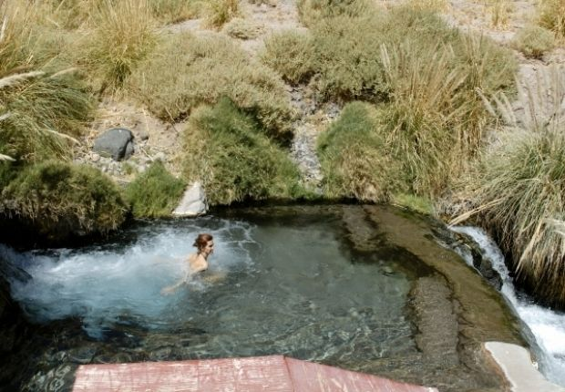 Soak in The Puritama Hot Springs, a series of eight large pools of geothermal spring water located in the Atacama Desert. The area is rarely overcrowded & it's great for going year round, but the weather is best from October to June.