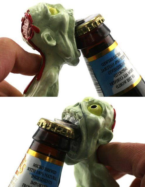 Zombie Bottle Opener,amazon, Buy, creative, home, innovative, kitchen, products, useful, design, inspiration, cooking,