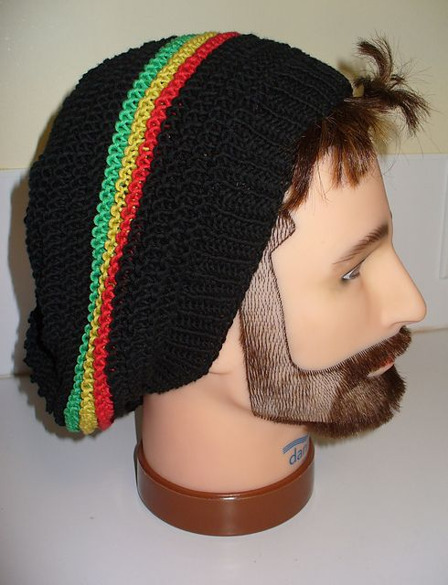 Rasta Knit Hat Pattern : 17 Best ideas about Bonnet Rasta on Pinterest Tricot bonnet femme, Chapeau ...