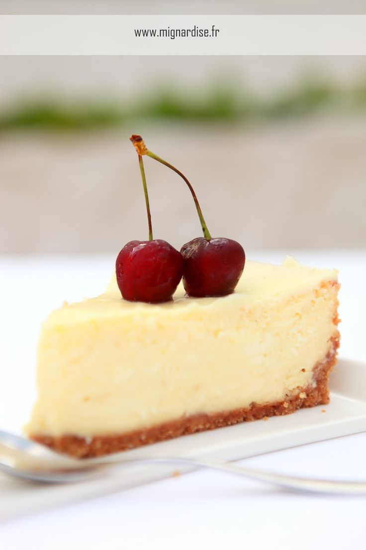 New York Style Cheesecake http://www.mignardise.fr/archives/2012/07/02/24620423.html