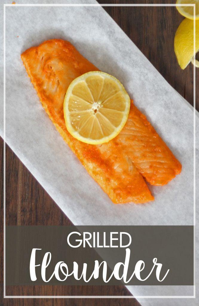 Grilled Flounder - Marguerites Cookbook