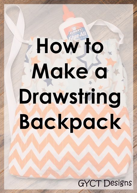 how to make a drawstring purse video