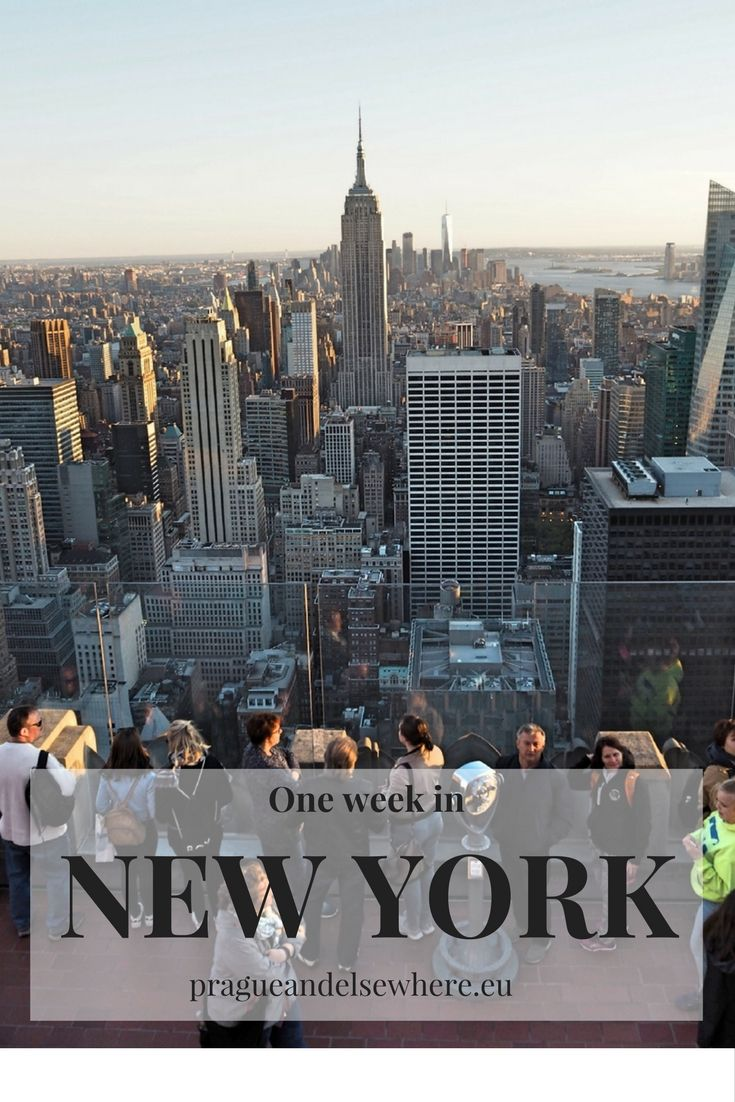 Tips for one week in New York City, USA