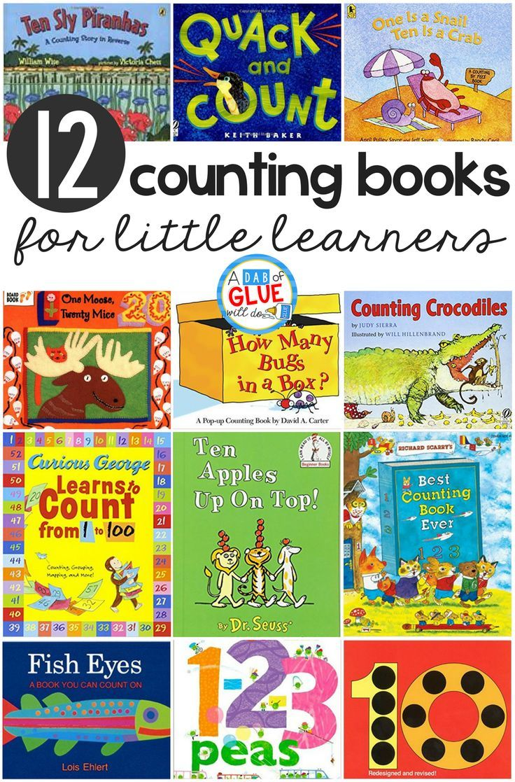 Counting is so much more fun to teach when it's through fun stories. I always love how excited preschool and kindergarten students are to show their counting skills and practice counting while we read children's books. Here's a list of 12 fun beginning counting books for little learners you'll want to add to your classroom library today.  via @dabofgluewilldo