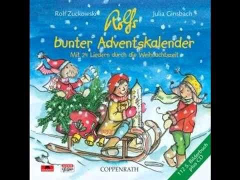 ▶ Rolf Zuckowski Lasst uns froh und munter sein Weihnachten - YouTube