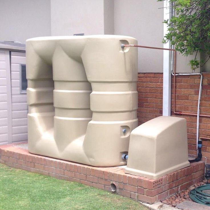 7 best slimline water tank images on pinterest water for Explanation of rainwater harvesting