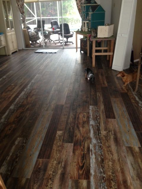 Check Out These Pictures Of The Laminate Flooring We Just