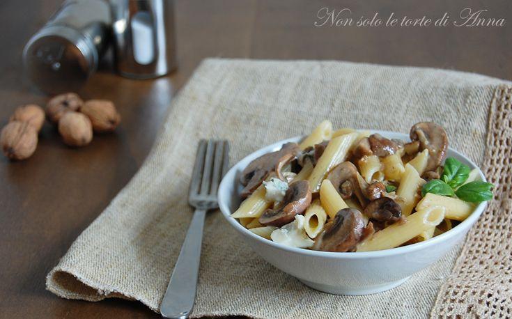 Pasta+ai+funghi+e+gorgonzola
