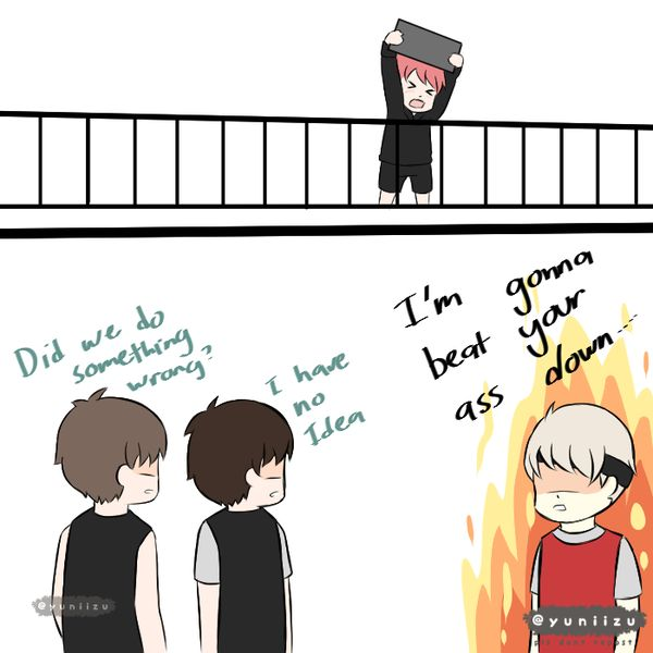 Fan Arts  yoonmin and vhope paradaise  My OTP