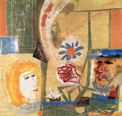 """Kondor, Bela (1931-1972) - 1964 """"El sueño del marinero"""""""