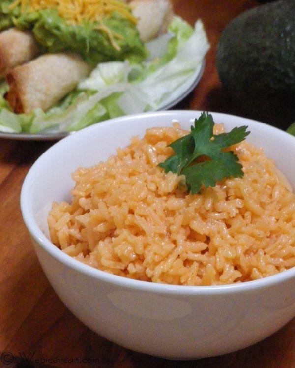 Martin's Easy Mexican Rice | Webicurean