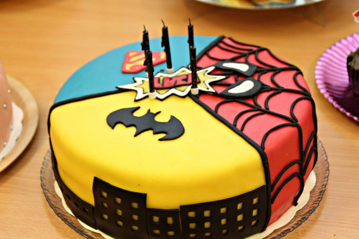 Super heroes cake | by crissis_2000