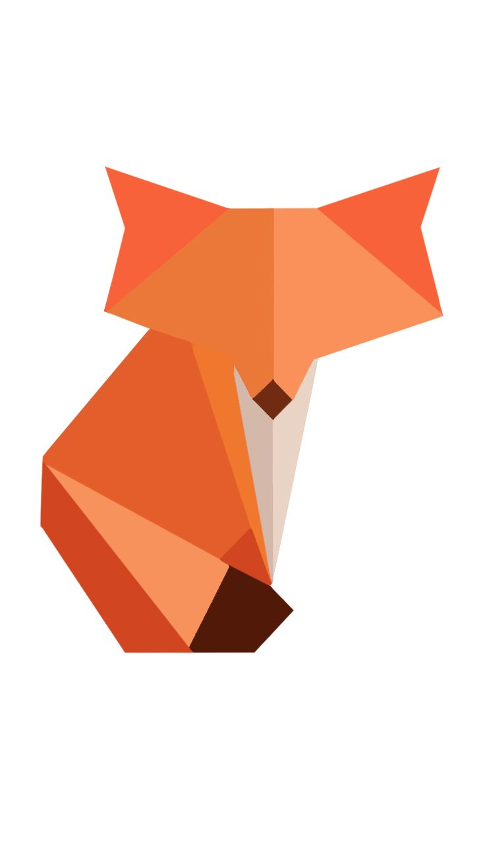 Polygon Art, Fox