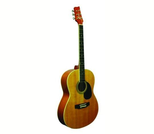 Kona Guitars Parlor Series K391 39-Inch Acoustic Guitar Natural