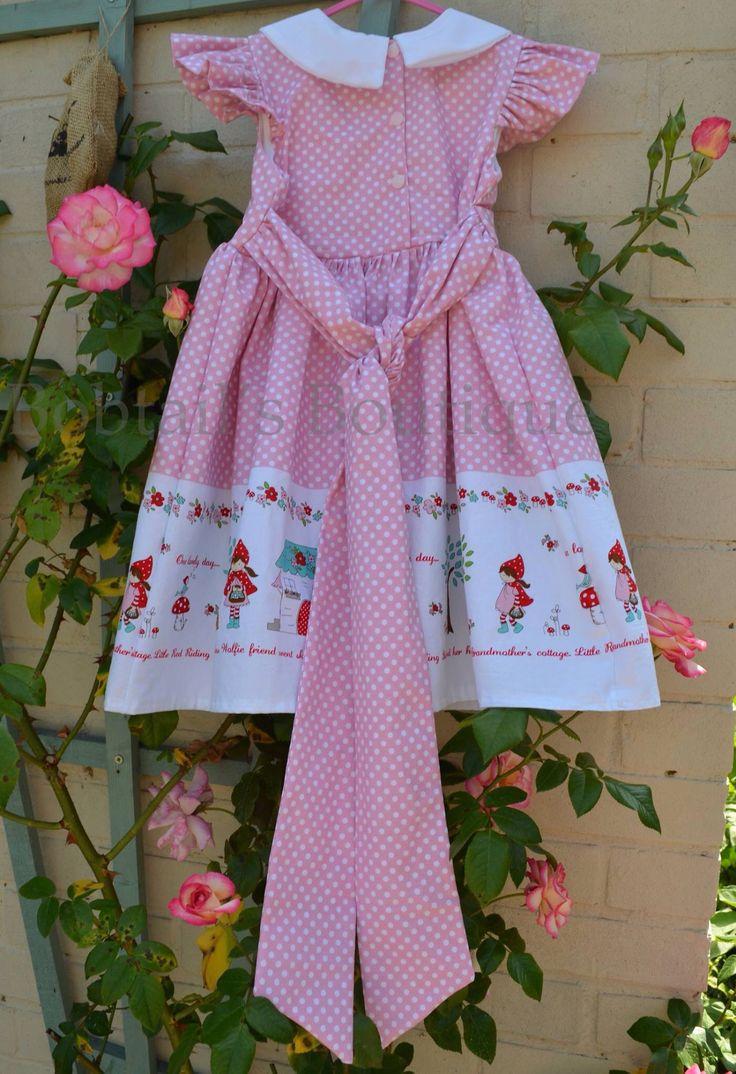 Back of Vintage style dress