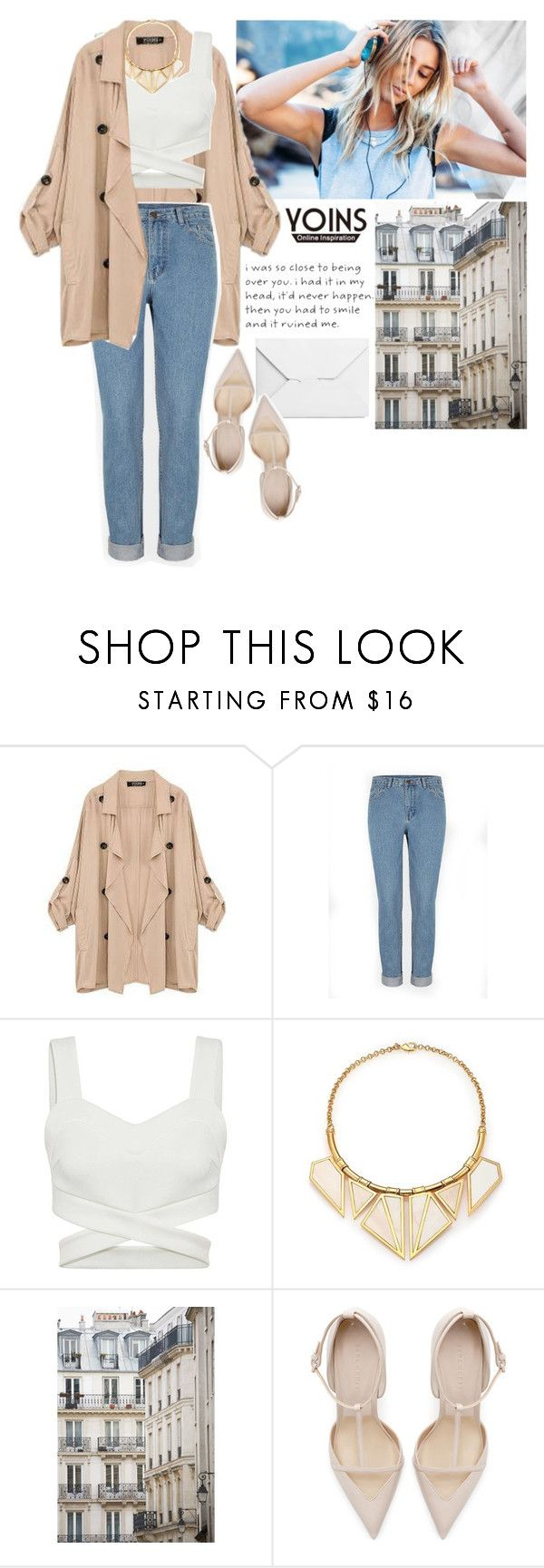 """""""Look # 553 Yoins.com"""" by lookat ❤ liked on Polyvore featuring Sabo Skirt, A Peace Treaty, Haussmann, Zara and J.W. Anderson"""