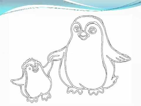 Animal Parents And Babies Coloring Book