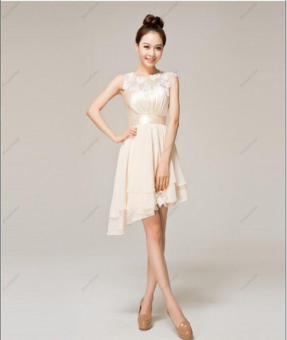 Bridesmaid Dress  Short Bridesmaid Dress / by DressSister on Etsy, $99.99