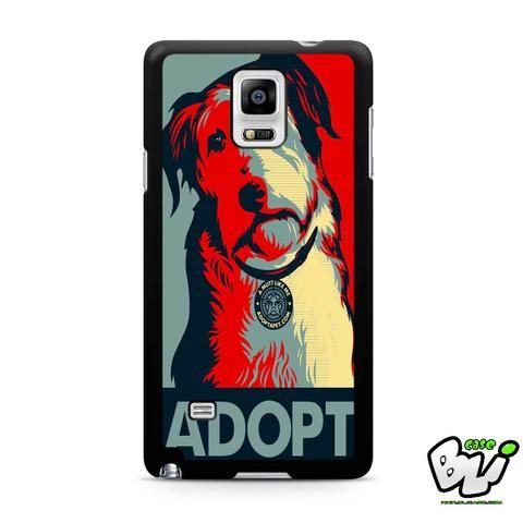 Adopt Dog Samsung Galaxy Note 4 Case