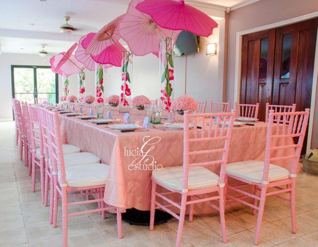 Pink Baby Shower #babyshower #pink