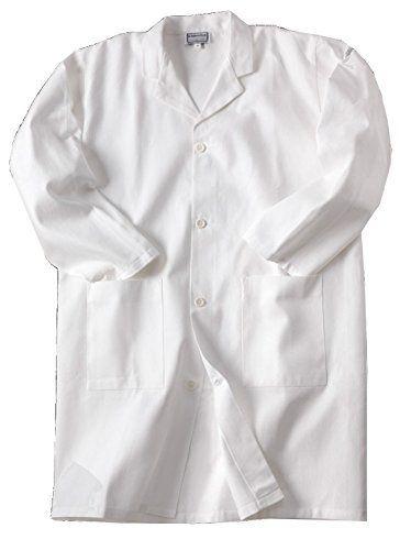 Blouse blanche de chimie, taille 10 à 16 ans, 100% coton, pour laboratoire scolaire: 100% coton Tissu sergé Haute qualité Ceinture…