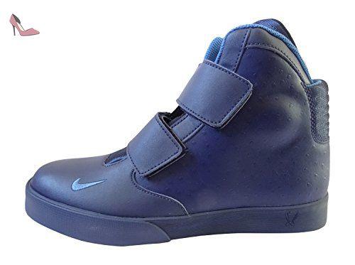 Nike Flystepper 2K3, Chaussures de Sport-Basketball Homme, Bleu (Bleu Marine Minuit / Bleu Étoile), 43 EU - Chaussures nike (*Partner-Link)