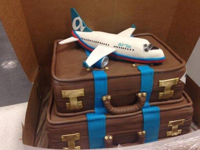 Retirement Cake Idea For A Pilot Airline Chic