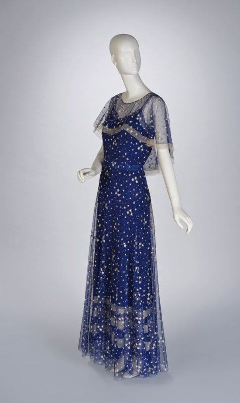 Evening ensemble, Gabrielle 'Coco' Chanel, c. 1935.