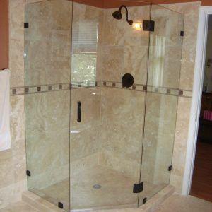 Glass Shower Door Hinge Seal