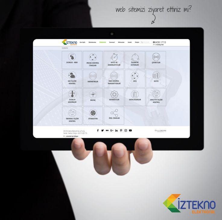 Web sitemizi ziyaret ettiniz mi? www.iztekno.com.tr