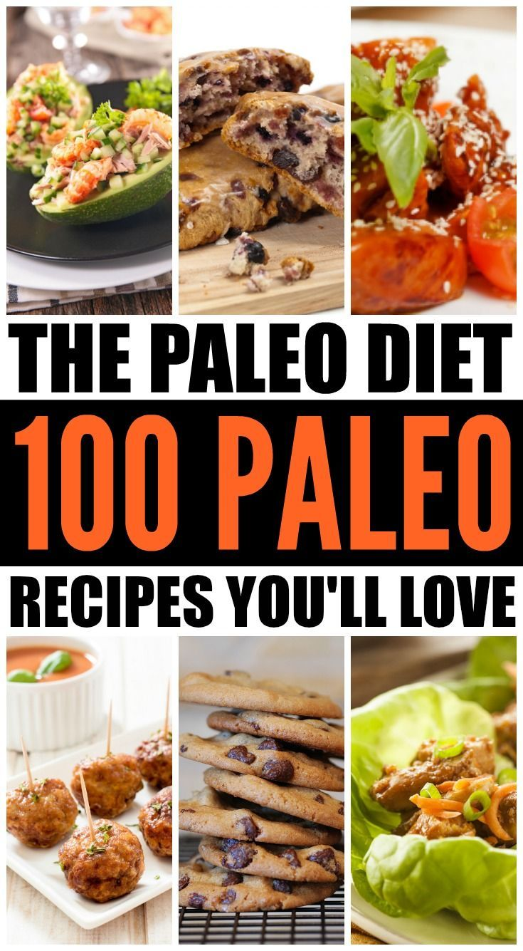 Whether you follow the Paleo diet due to health issues, chronic diseases, or for weight loss, you will LOVE this collection of 100 Paleo recipes. From breakfast, lunch, and dinner to sides, snacks, and desserts, these are the best Paleo recipes you'll find on the Internet. They're healthy, easy to make, and some are even crockpot-friendly. Happy eating!
