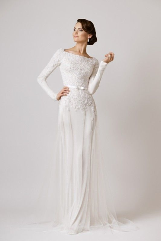 Vamp mados namai 2016 weddingdress wedding wedding for Simple long sleeve wedding dresses