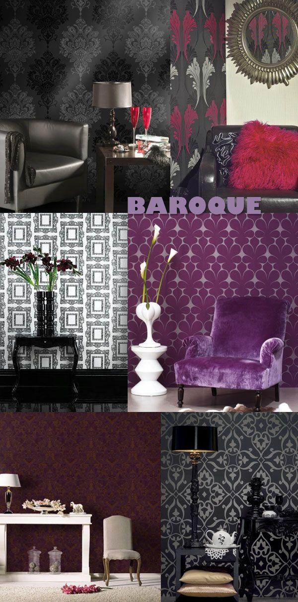 1000 ideas about papier peint baroque on pinterest - Papier peint lutece cuisine ...