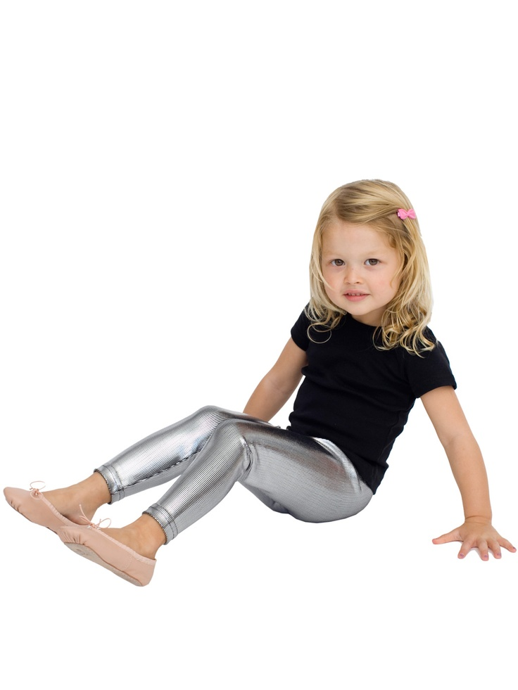 American Apparel Kids Shiny Legging To Warm Up Z S