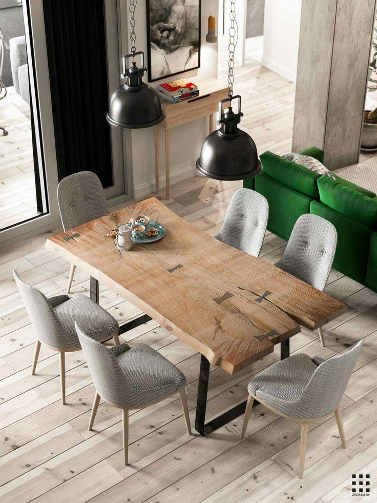 #stół #surowakrawędź #drewno