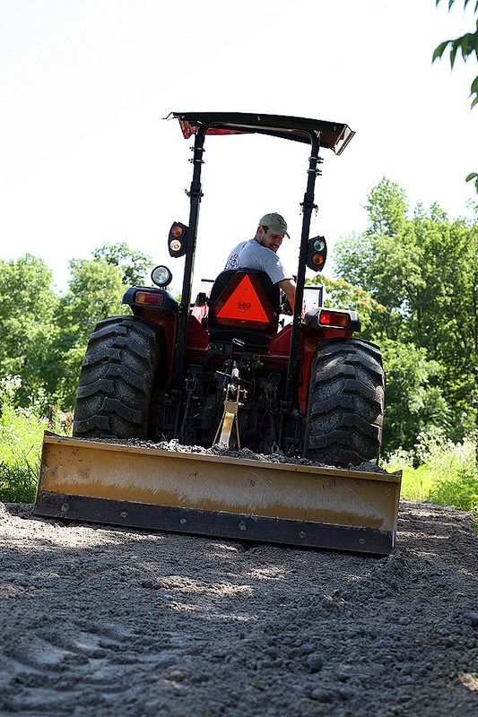How Much Is A Ton Of Gravel >> Crushed Concrete Driveway For the Farm - A Cheaper Alternative | Concrete driveways, Diy ...