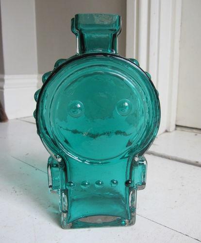 Vintage 60s Riihimaki AHKERALIISA vase Helena Tynell