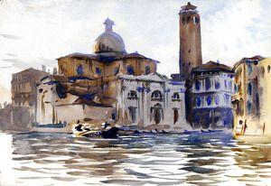 Palazzo Labia and San Geremia, Venice  John Singer Sargent
