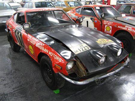 Datsun East African Safari Rally No. 11