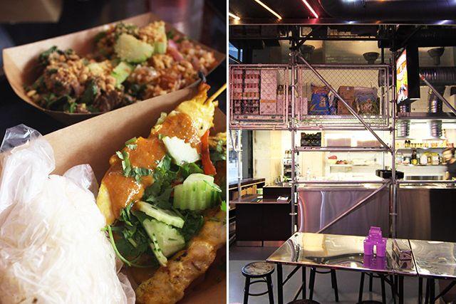 Street, le resto le plus thaïlandais de la rive ouest du canal Saint-Martin.  Street Bangkok Local Food 3, rue Eugène Varin, 75010