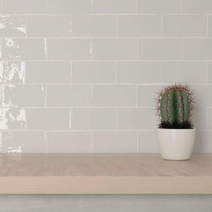 Feather Handcrafted Metro Tiles | Walls and Floors