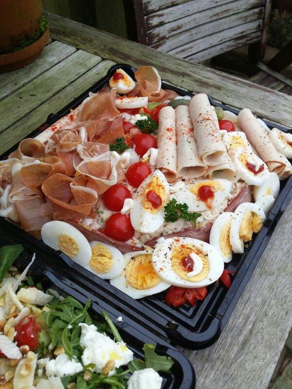 Aardappel rundvlees salade