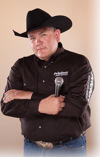 Roger Mooney - Pro Rodeo Announcer
